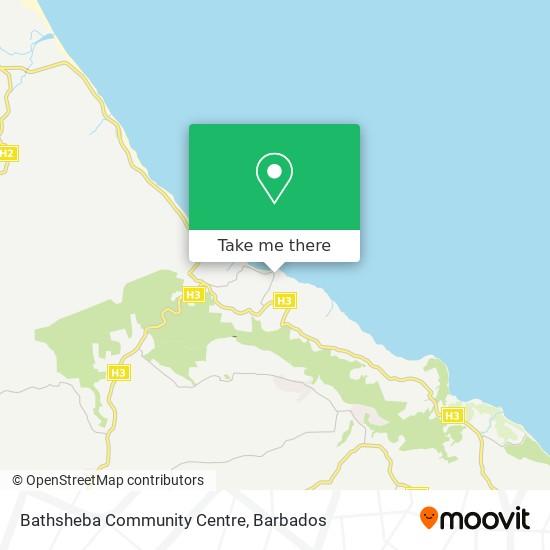 Bathsheba Community Centre map