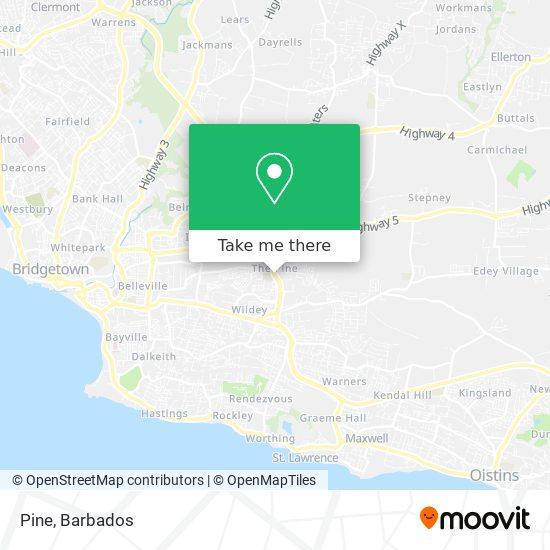 Pine map
