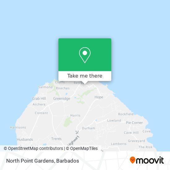 North Point Gardens map