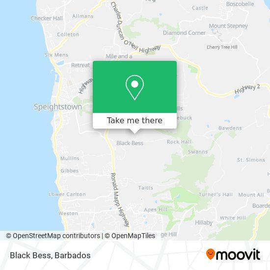 Black Bess map
