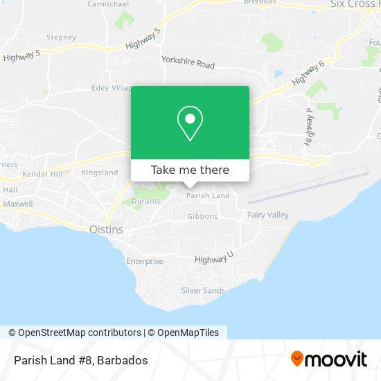 Parish Land #8 map