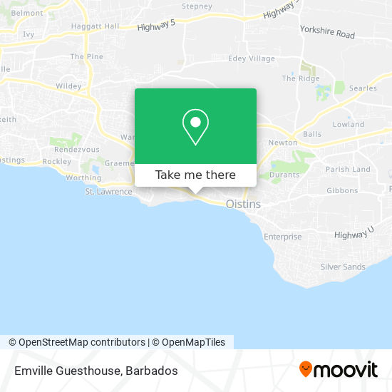 Emville Guesthouse map
