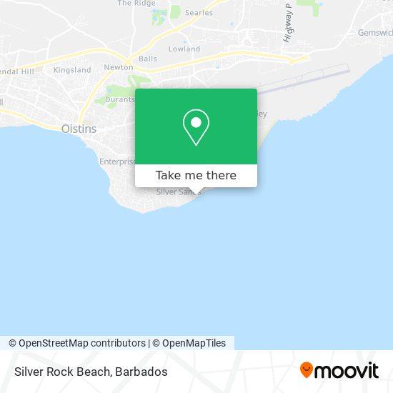 Silver Rock Beach map