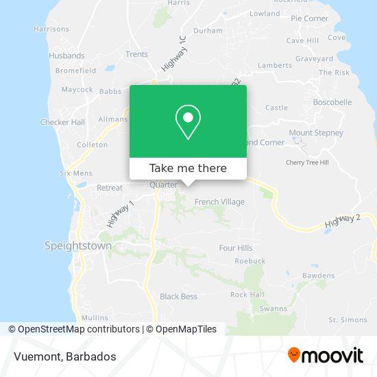 Vuemont map