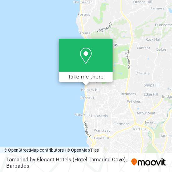 Tamarind by Elegant Hotels (Hotel Tamarind Cove) map