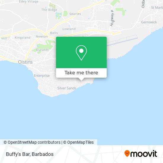 Buffy's Bar map
