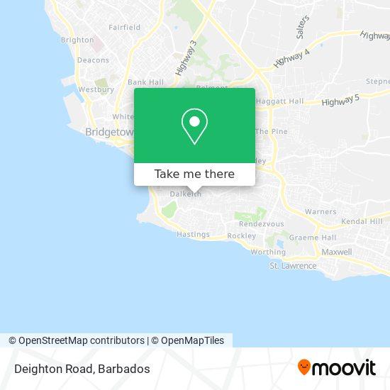 Deighton Road map