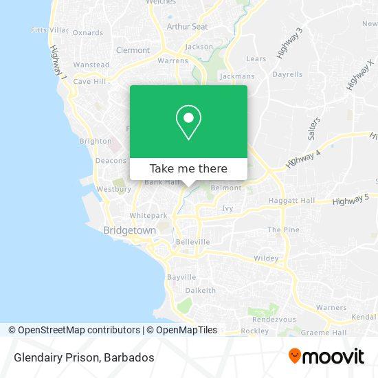 Glendairy Prison map