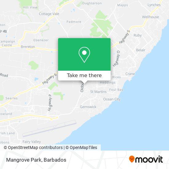 Mangrove Park map