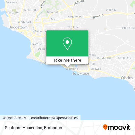 Seafoam Haciendas map