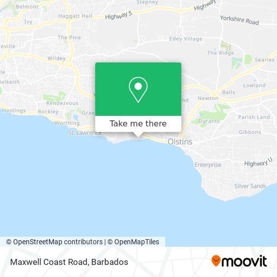 Maxwell Coast Road map