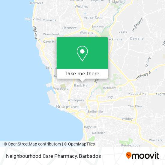 Neighbourhood Care Pharmacy map