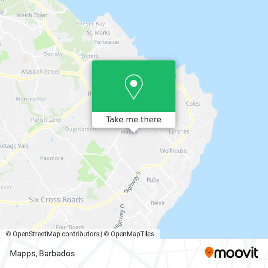 Mapps map