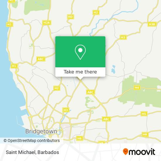 Saint Michael map