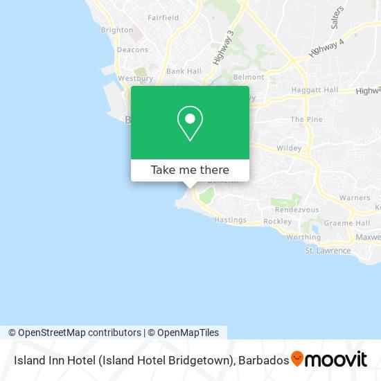 Island Inn Hotel (Island Hotel Bridgetown) map