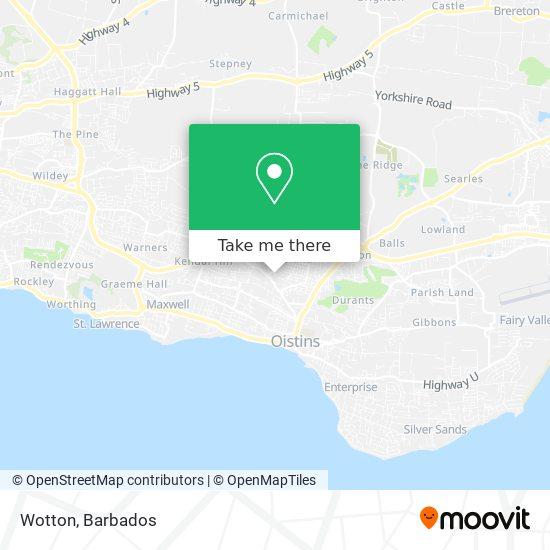 Wotton map