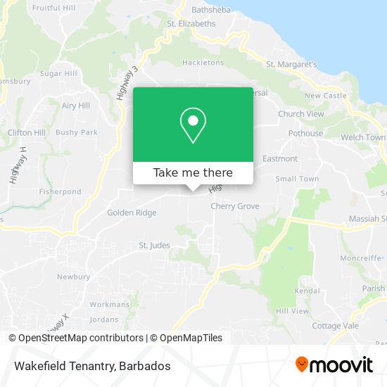 Wakefield Tenantry map