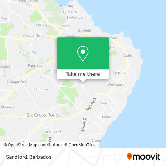 Sandford map