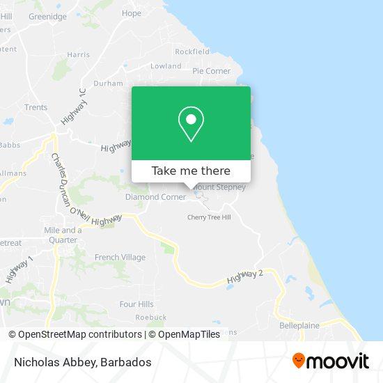 Nicholas Abbey map