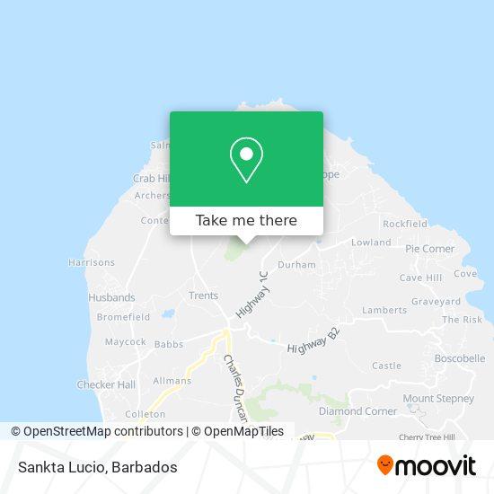 Sankta Lucio map
