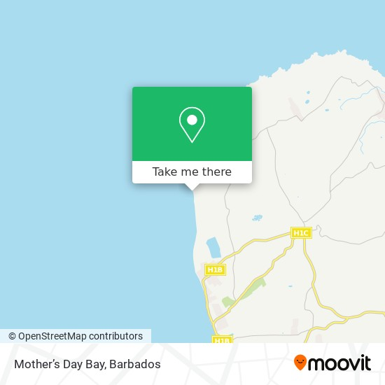 Mother's Day Bay map
