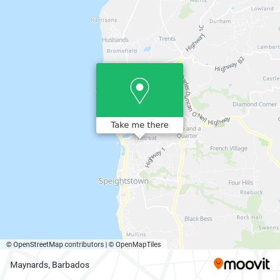 Maynards map