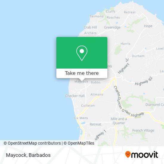 Maycock map