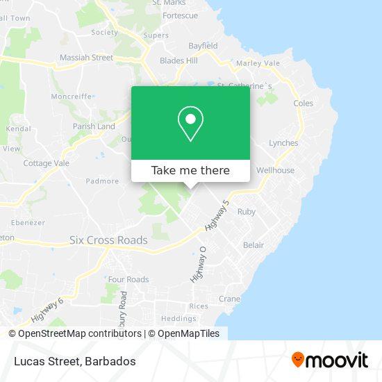 Lucas Street map
