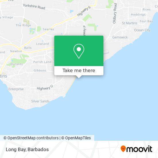 Long Bay map