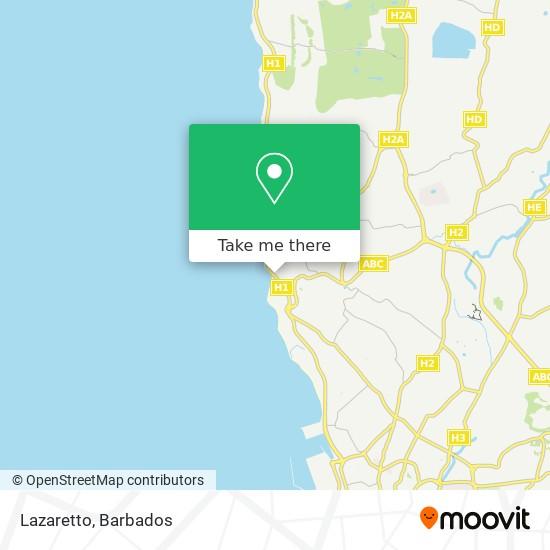 Lazaretto map