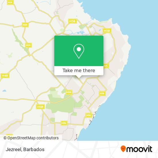 Jezreel map