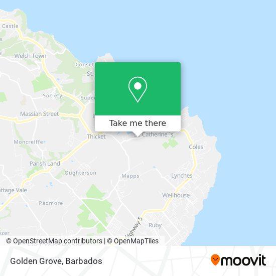Golden Grove map