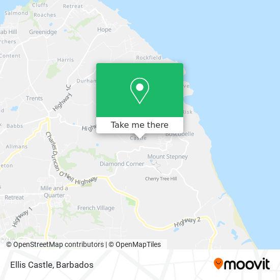 Ellis Castle map