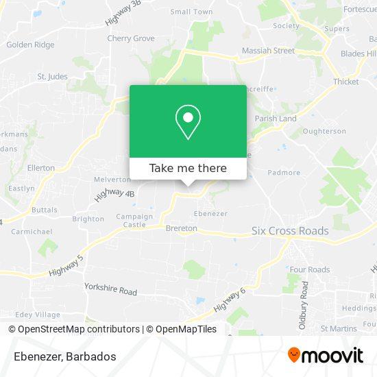 Ebenezer map