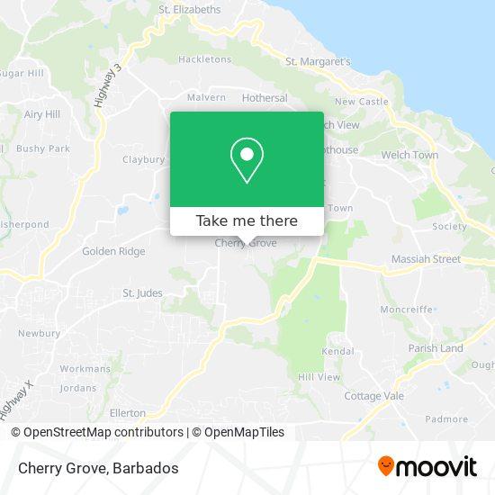Cherry Grove map