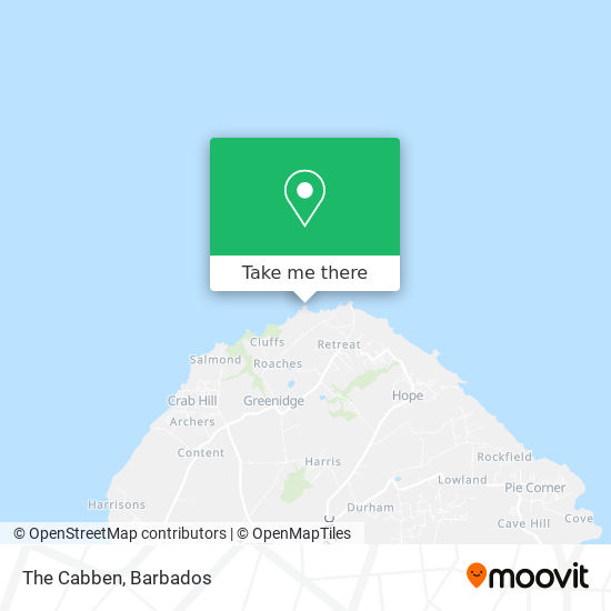The Cabben map