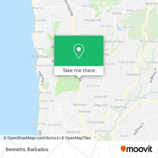 Bennetts map