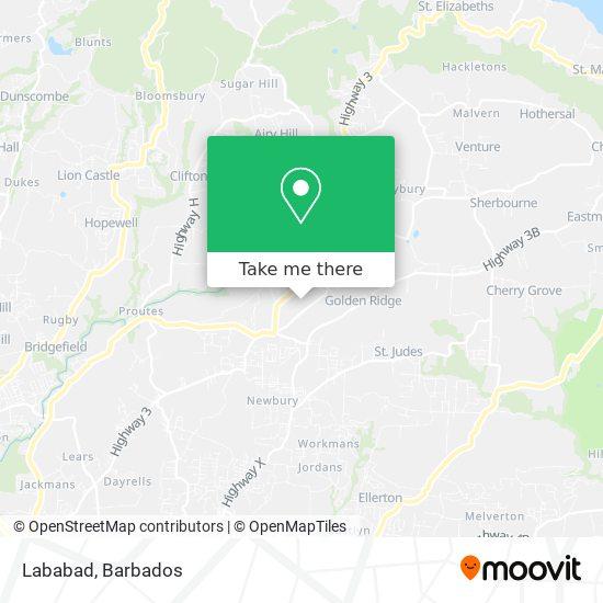 Lababad map