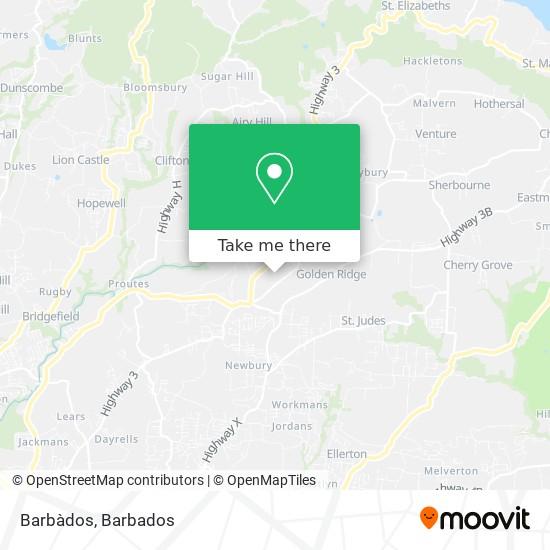 Barbàdos map