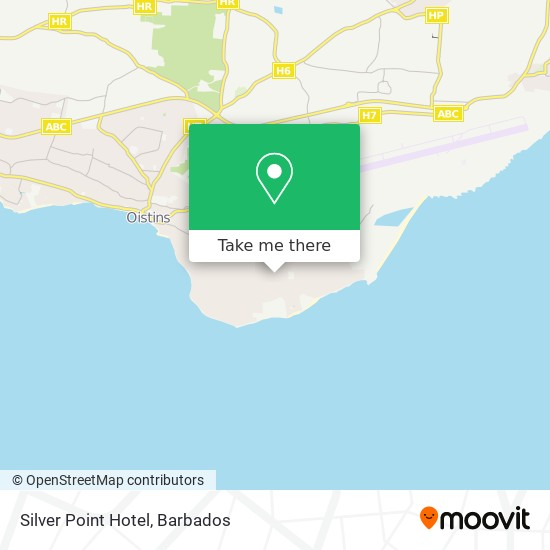 Silver Point Hotel map