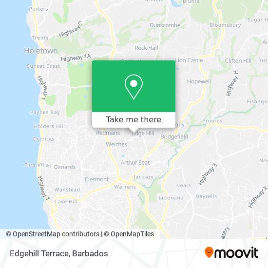 Edgehill Terrace map