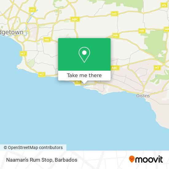 Naaman's Rum Stop map