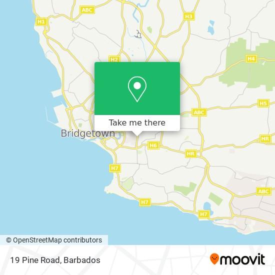 19 Pine Road map