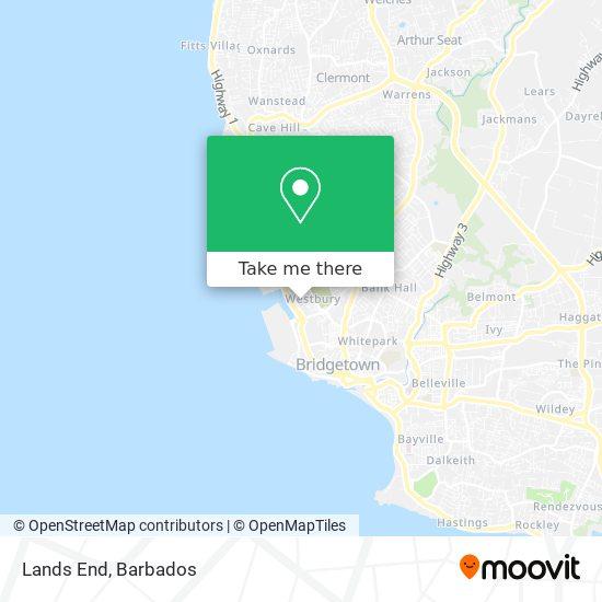 Lands End map