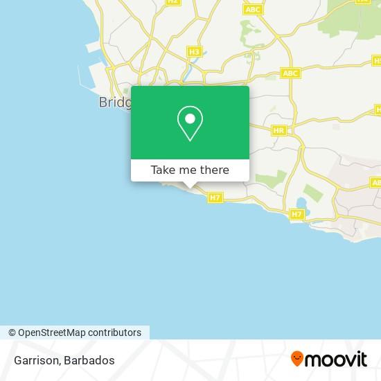 Garrison map