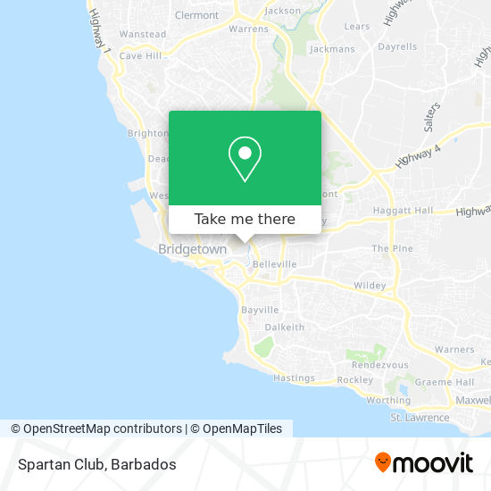 Spartan Club map