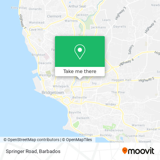 Springer Road map