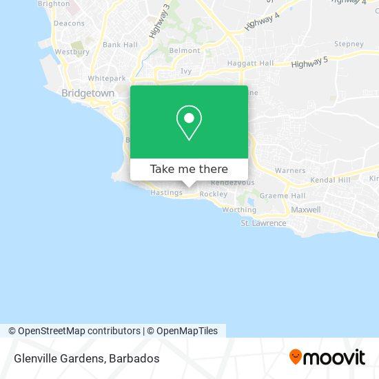 Glenville Gardens map