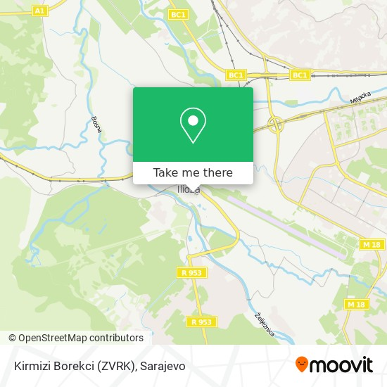Kirmizi Borekci (ZVRK) map
