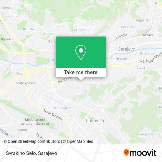 Svrakino Selo map